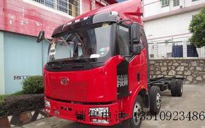 一汽解放 J6L中卡 220马力 6X2 8.7米仓栅式载货车
