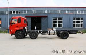 东风商用车 天锦中卡 210马力 6X2 8.6米排半载货车(底盘)