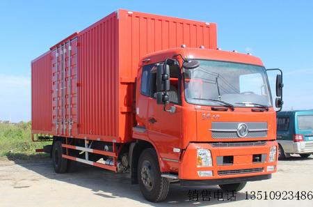 东风商用车 天锦中卡 160马力 4X2排半厢式载货车